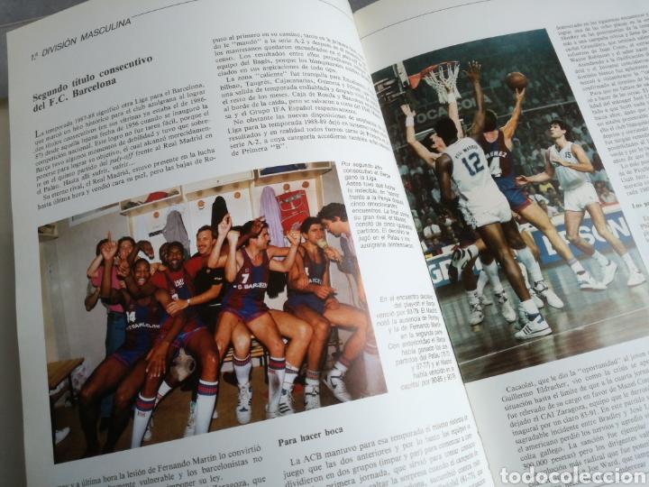Coleccionismo deportivo: BALONCESTO ESPAÑOL 88 - LIBRO DEL AÑO, TEMPORADA 1987-1988 - Foto 4 - 107655583