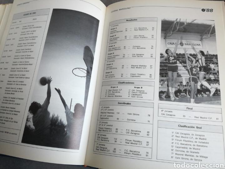 Coleccionismo deportivo: BALONCESTO ESPAÑOL 88 - LIBRO DEL AÑO, TEMPORADA 1987-1988 - Foto 7 - 107655583