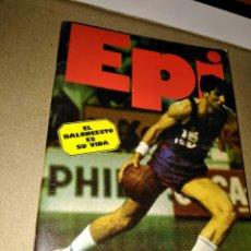 Coleccionismo deportivo: EPI EL BALONCESTO ES SU VIDA EDICIONES SIGLO CULTIRAL, S.A.. Lote 109054151