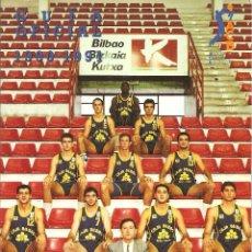 Coleccionismo deportivo: GUÍA OFICIAL ACB 1990 1991, BALONCESTO-PORTADA CAJA BILBAO, TIBIDABO EDICIONES - 144 PÁGINAS. Lote 109170659