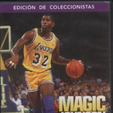 Coleccionismo deportivo: DVD MAGIC JOHNSON. ALWAYS SHOWTIME - EDICION DE COLECCIONISTAS. Lote 109646407