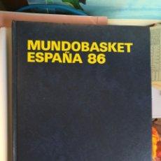 Coleccionismo deportivo: LIBRO MUNDO BASKET ESPAÑA 86 FEDERACION ESPAÑOLA DE BALONCESTO. Lote 111675563