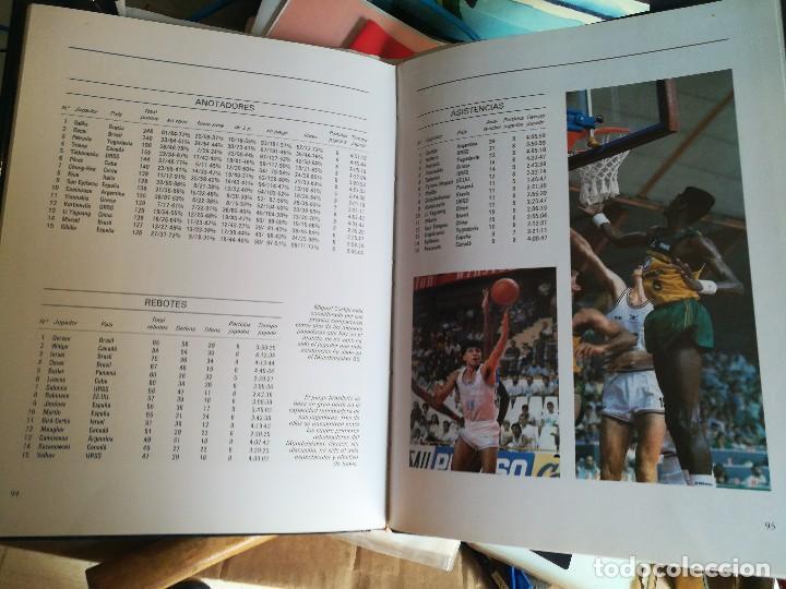 Coleccionismo deportivo: libro mundo basket españa 86 federacion española de baloncesto - Foto 4 - 111675563