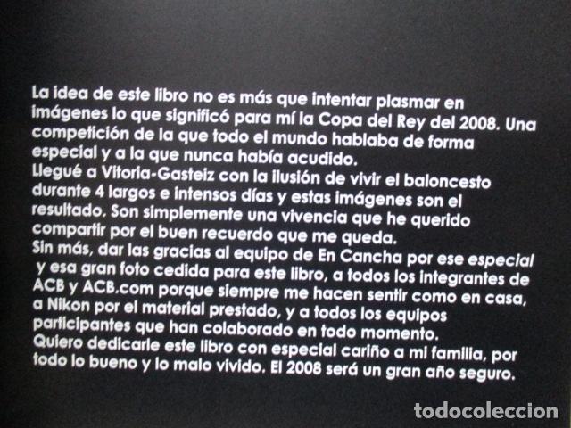 Coleccionismo deportivo: Copa Del Rey 2008 Vitoria Gasteiz - Sonia Cañada Ramos- Libro dedicado y firmado. - Foto 6 - 111978423