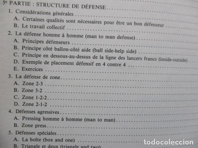 Coleccionismo deportivo: Jouer au basket : Enseignement et pratique (Sports et loisirs) de CREVECOEUR G. et SMETS A. FRANCES - Foto 11 - 112083227