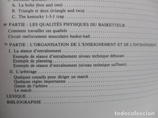 Coleccionismo deportivo: Jouer au basket : Enseignement et pratique (Sports et loisirs) de CREVECOEUR G. et SMETS A. FRANCES - Foto 12 - 112083227