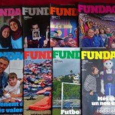 Coleccionismo deportivo: FUNDACIO F.C. BARCELONA LOTE DE 8 REVISTAS ACTUALES. Lote 112794019