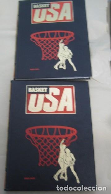 BASKET USA - 2 TOMOS - HOBBY PRESS - NBA (Coleccionismo Deportivo - Libros de Baloncesto)