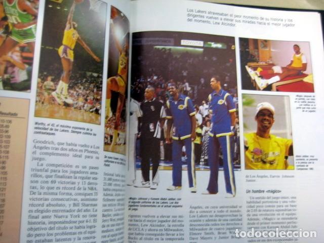 Coleccionismo deportivo: BASKET USA - 2 TOMOS - HOBBY PRESS - NBA - Foto 4 - 112808883