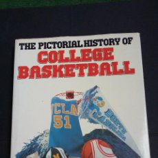 Coleccionismo deportivo: THE PICTORIAL HISTORY OF COLLEGE BASKETBALL - BILL GUTMAN - GALLERY BOOKS 1989. Lote 114115967
