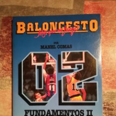 Coleccionismo deportivo - Baloncesto. Más que un juego nº 02 - Manel Comas - Fundamentos II - 116630563
