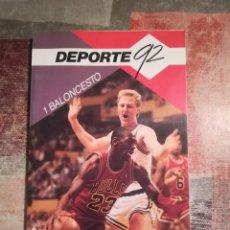 Collectionnisme sportif: DEPORTE '92 - 5. CICLISMO - JORDI HUGUET I PARELLADA. Lote 117207875