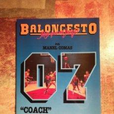 Coleccionismo deportivo - Baloncesto. Más que un juego nº 07 - Manel Comas - 'Coach' Dirección de equipo - 118170011