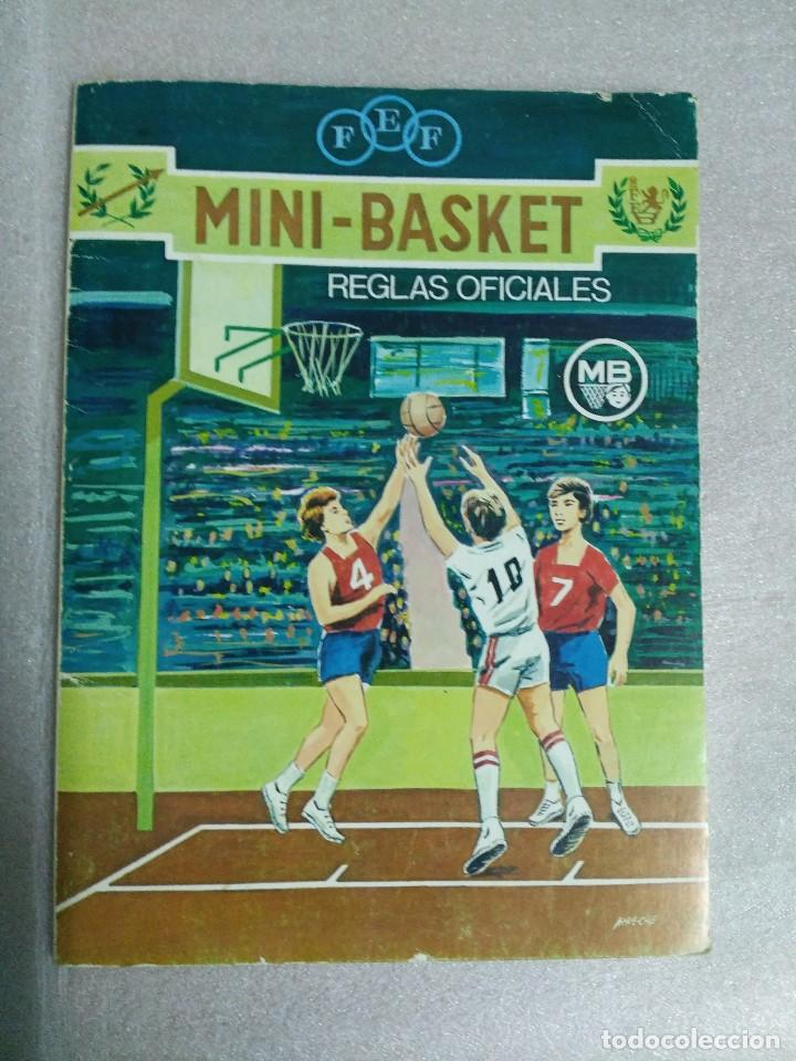 MINI BASKET REGLAS OFICIALES (Coleccionismo Deportivo - Libros de Baloncesto)