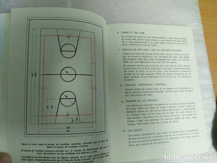 Coleccionismo deportivo: MINI BASKET REGLAS OFICIALES - Foto 4 - 120467115