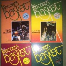 Coleccionismo deportivo: LOS RÉCORD DEL BASKET. Lote 120761251