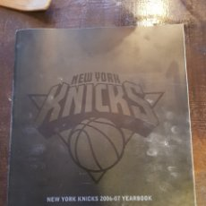 Coleccionismo deportivo: NEW YORK KNICKS. ANUARIO TEMPORADA 2006-2007. NBA. BALONCESTO. EN INGLÉS. Lote 120874248