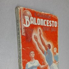 Coleccionismo deportivo: BALONCESTO (BASKET-BALL). ENTRENAMIENTO, TÉCNICA,... / G. GLADMAN / LIBRERÍA SINTES 1943. Lote 120930439