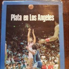 Coleccionismo deportivo: CARLOS JIMÉNEZ, MARTÍN TELLO. PLATA EN LOS ANGELES. 1984. BALONCESTO. BANCO EXTERIOR DE ESPAÑA. Lote 121696908