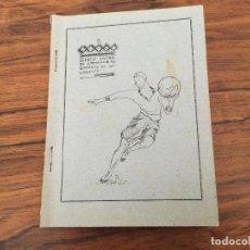 Coleccionismo deportivo: ESCUELA CENTRAL DE GIMNASIA: BALONCESTO (BASKET-BALL), REGLAMENTO Y TECNICA, TOLEDO 1928. Lote 121994435