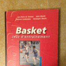 Coleccionismo deportivo: BASKET. JEUX D'ENTRAINEMENT (JEAN PIERRE DE VINCENZI). Lote 123079619
