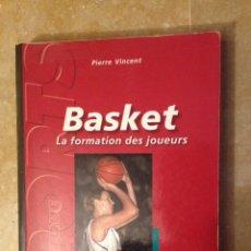Coleccionismo deportivo: BASKET. LA FORMATION DES JOUEURS (PIERRE VINCENT). Lote 123079690