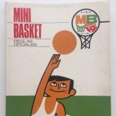 Coleccionismo deportivo: REGLAS OFICIALES DEL MINI BASKET 1969 - FIBA - BALONCESTO. Lote 127234148