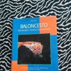 Coleccionismo deportivo: ANTIGUO LIBRO BALONCESTO INICIACIÓN Y PERFECCIONAMIENTO HISPANO EUROPEA, GÉRARD BOSC, BARCELONA 1996. Lote 128287479