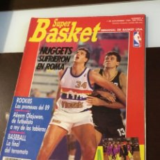 Coleccionismo deportivo: REVISTA SUPER BASKET NÚMERO CUATRO. Lote 128301339