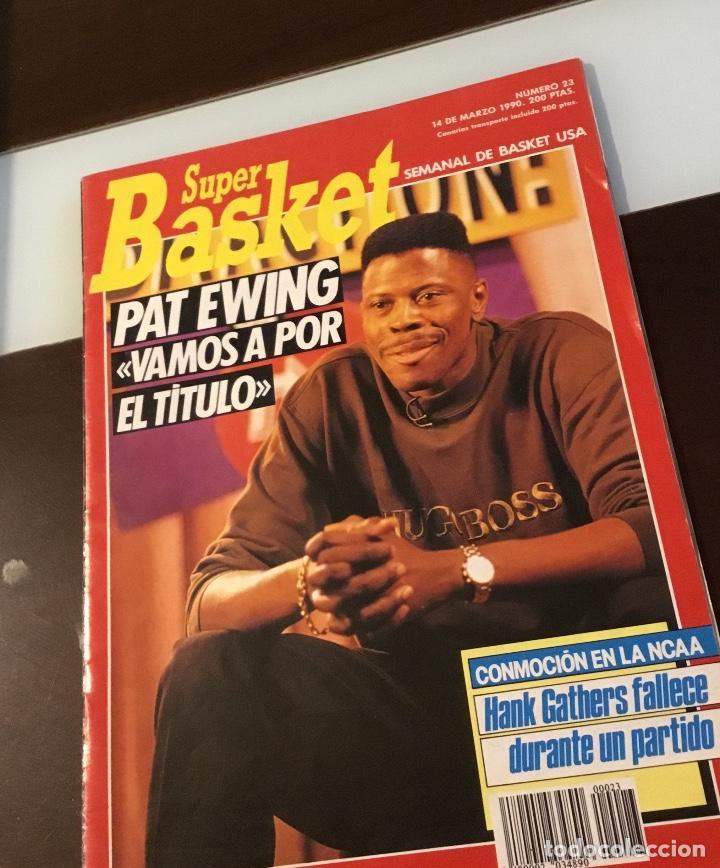 REVISTA SUPER BASKET NÚMERO 23 (Coleccionismo Deportivo - Libros de Baloncesto)