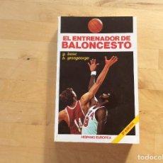 Coleccionismo deportivo: EL ENTRENADOR DE BALONCESTO.BOSC.GROSGEORGE. Lote 129381531