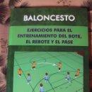Coleccionismo deportivo: EJERCICIOS PARA ENTRENAMIENTO DEL BOTE, REBOTE Y PASE - NUEVO SIN USO. Lote 131003820