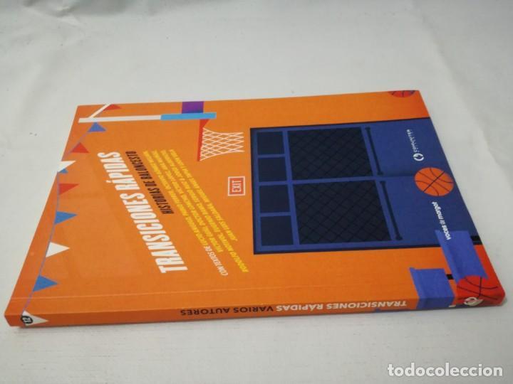 TRANSICIONES RAPIDAS-HISTORIAS DE BALONCESTO-OCTAVIO GOMEZ MILIANYO13DEPORTE(Coleccionismo Deportivo - Libros de Baloncesto)