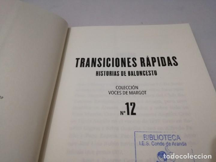 Coleccionismo deportivo: transiciones rapidas-historias de baloncesto-octavio gomez milianyo13deporte - Foto 6 - 131059320