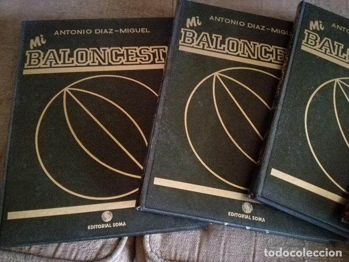 MI BALONCESTO POR ANTONIO DIAZ MIGUEL (Coleccionismo Deportivo - Libros de Baloncesto)