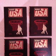 Coleccionismo deportivo: BASKET USA. 4 TOMOS. OBRA COMPLETA. HOBBY PRESS 1986.. Lote 182254437