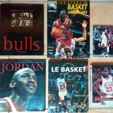 Coleccionismo deportivo: LOTE DE 6 LIBROS DE MICHAEL JORDAN Y DE BASKET. Lote 140624521