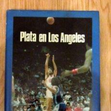 Coleccionismo deportivo: LIBRO BALONCESTO BASKET PLATA EN LOS ANGELES OLIMPIADAS 1984. Lote 140650762