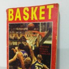 Coleccionismo deportivo: REVISTA BALONCESTO BASKET 1988 REGLAS HISTORIA TECNICAS. Lote 147249414