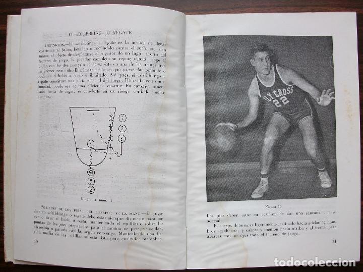 Coleccionismo deportivo: BALONCESTO. MANUAL DEL PREPARADOR Y DEL JUGADOR. 1960 - Foto 3 - 148348374