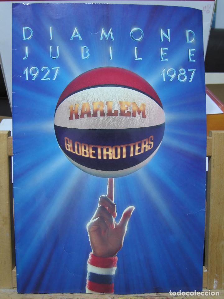 HARLEM GLOBETROTTERS - DIAMOND JUBILEE - 1927 / 1987 (Coleccionismo Deportivo - Libros de Baloncesto)