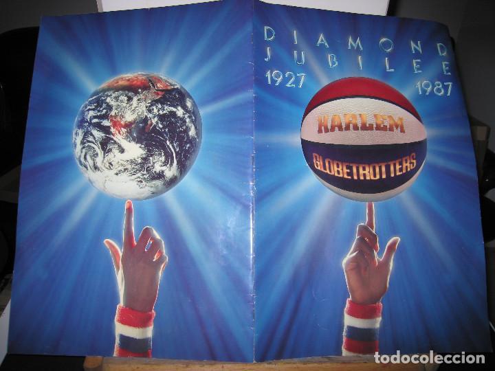 Coleccionismo deportivo: HARLEM GLOBETROTTERS - DIAMOND JUBILEE - 1927 / 1987 - Foto 4 - 149884374