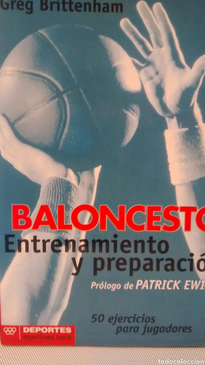 BALONCESTO DE GREG BRITTENHAM (MARTINEZ ROCA) (Coleccionismo Deportivo - Libros de Baloncesto)