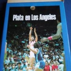 Coleccionismo deportivo: PLATA EN LOS ÁNGELES TAPA DURA CON SOBRECUBIERTA. BANCO EXTERIOR DE ESPAÑA. Lote 153380332