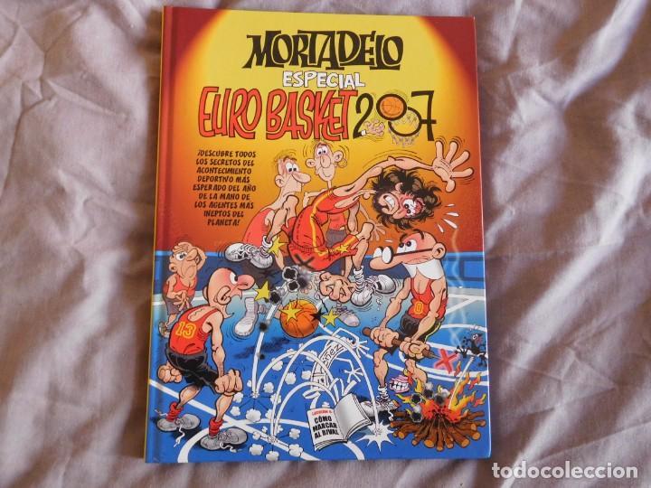 LIBRO MORTADELO ESPECIAL EURO BASKET 2007 (Coleccionismo Deportivo - Libros de Baloncesto)