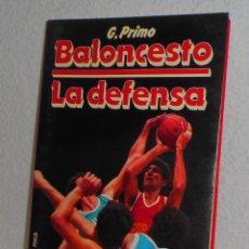Coleccionismo deportivo: BALONCESTO LA DEFENSA G. PRIMO Y MARTÍNEZ ROCA 1986 DEPORTES. Lote 158938414