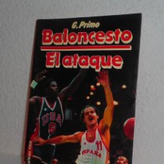 Coleccionismo deportivo: BALONCESTO EL ATAQUE G. PRIMO Y MARTÍNEZ ROCA 1986 DEPORTES. Lote 158939694