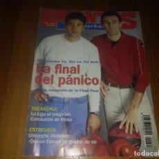 Coleccionismo deportivo: REVISTA DE GIGANTES DEL BASKET AÑO 1994 N° 442 GHEORGHE MURESAN ANDRE TURNER COREN BARÇA ACB TOMAS. Lote 164759130