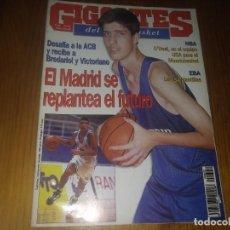 Coleccionismo deportivo: REVISTA DE GIGANTES DEL BASKET AÑO 1997 N° 622 MADRID BARÇA ACB NBA EGA . Lote 164790434