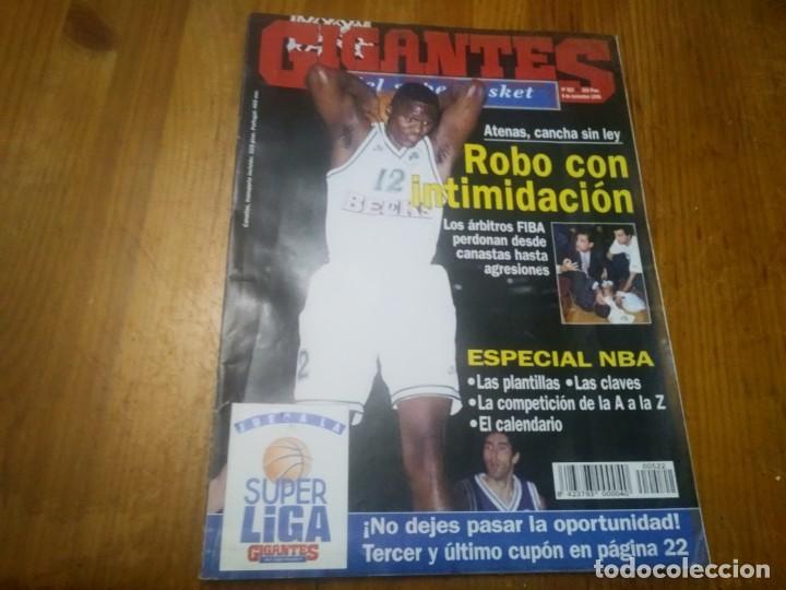 REVISTA DE GIGANTES DEL BASKET SUPERBASKET AÑO 1995 N° 522 JORDAN Y RODMAN WARREN KIDD (Coleccionismo Deportivo - Libros de Baloncesto)